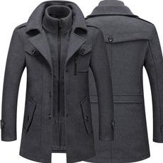 woolen, Jacket, Fashion, trenchcoatformen