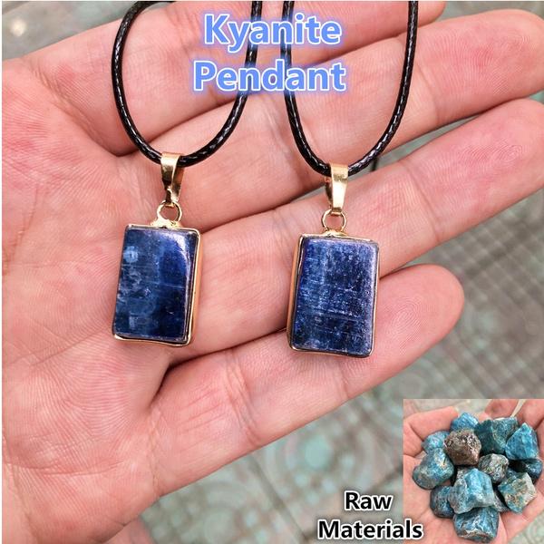 kyanite, gemstone jewelry, diy, Jewelry