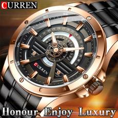 Steel, Fashion, Stainless Steel, Watch