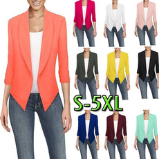 casual coat, Fashion, Blazer, Women Blazers