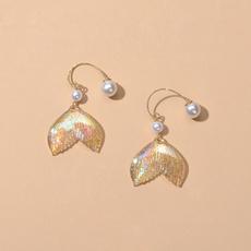 blingblingearringforfemale, Jewelry, Pearl Earrings, colorfulearring