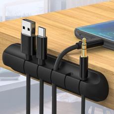 cableorganizerclip, usb, Office, Silicone