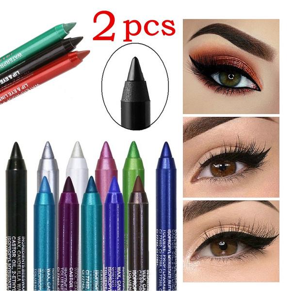 blackeyeliner, colorfuleyeliner, eye, Beauty