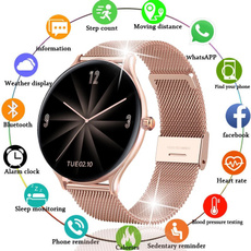Touch Screen, bluetoothwristwatch, Waterproof, lady watch