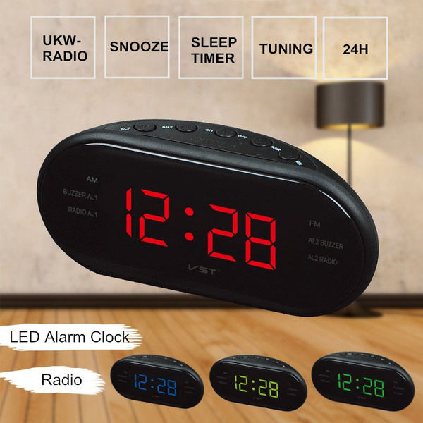 snoozealarmclock, mirroralarmclock, led, Clock