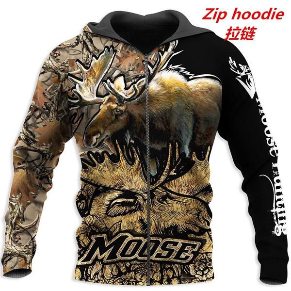 3D hoodies, Fashion, Jacket, Hunting