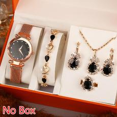 starryskywatch, Fashion, Stud Earring, Watch