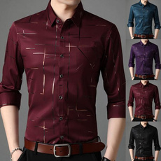 slim fit shirt, Fashion, Dress Shirt, long sleeved shirt