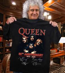 queenband, Queen, Cotton T Shirt, 50yearsofqueen