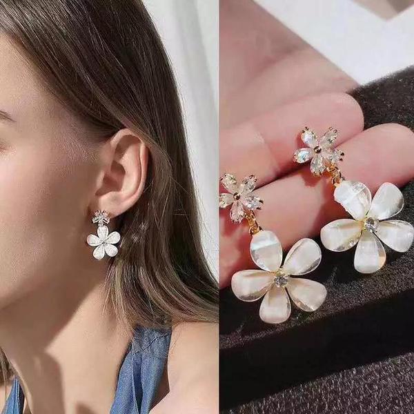 cute, Flowers, Dangle Earring, Jewelry