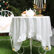Coffee, Home Decor, roundtablecloth, Simple