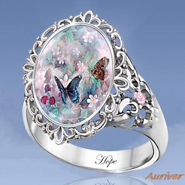 butterfly, Sterling, Silver Jewelry, DIAMOND