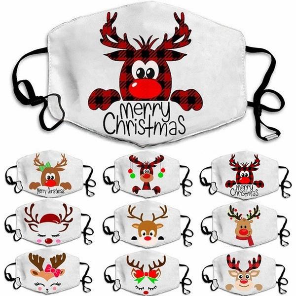 festivalmask, Christmas, unisex, washablemask