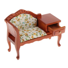 Toy, living room, couch, dollhouseminiature