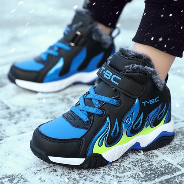 Children, Sneakers, Fashion, Winter