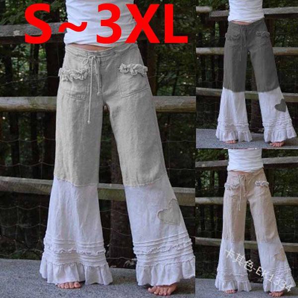 Women Pants, Heart, Plus Size, Lace
