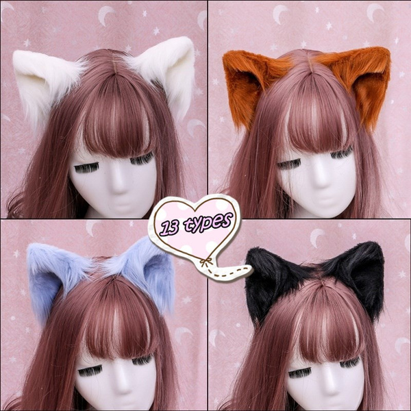 cute, Cosplay, beastearhairclip, Halloween Costume