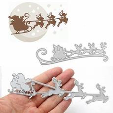 sledcuttingdie, stencil, christmasdiesandstamp, Christmas