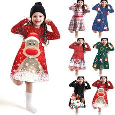 cute, kids clothes, Christmas, Sleeve