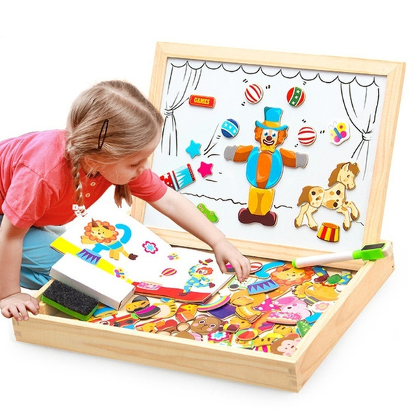 Box, Toy, Wooden, Puzzle