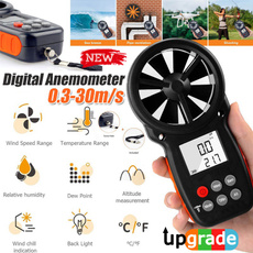 Test Equipment, anemometer, temperatureinstrument, windmeter