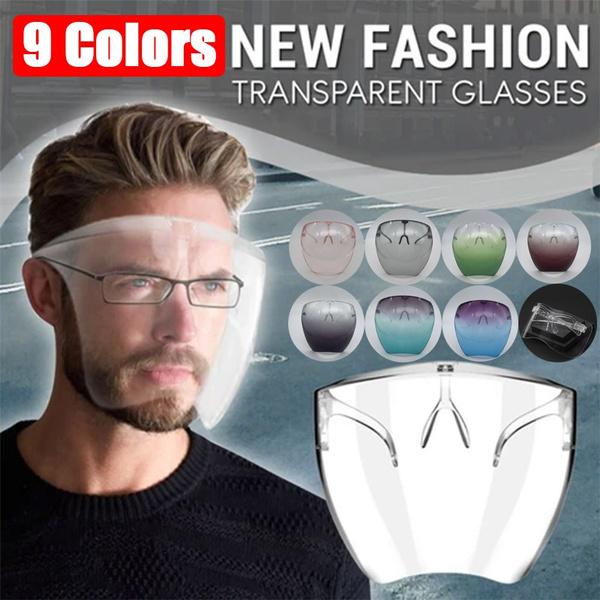 transparentglasse, Fashion, windproofshield, faceshield