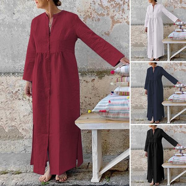 dressesforwomen, Long Sleeve, long dress, plus size dress