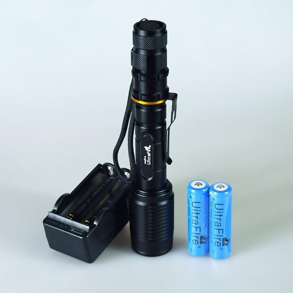 Flashlight, led, Battery, lights