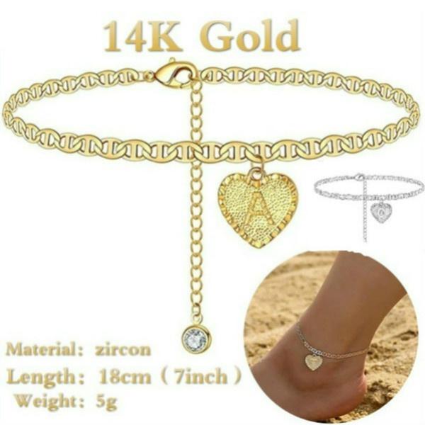 Charm Bracelet, cute, Jewelry, Chain