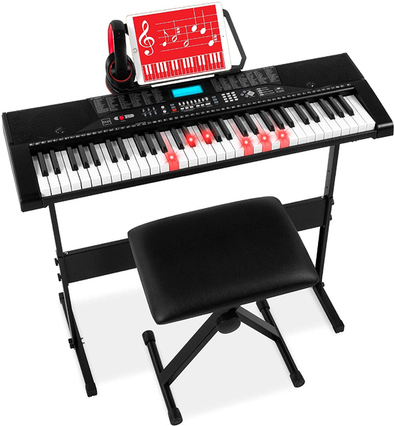 Headphones, Stickers, electronickeyboard, pianoset