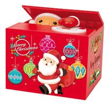 Box, cute, Decoración, piggybank