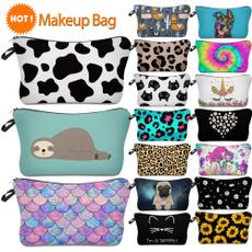 makeupbagfun, Fashion, Makeup bag, cow
