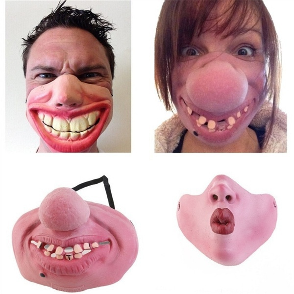latex, halffacemask, cosplaymask, scary