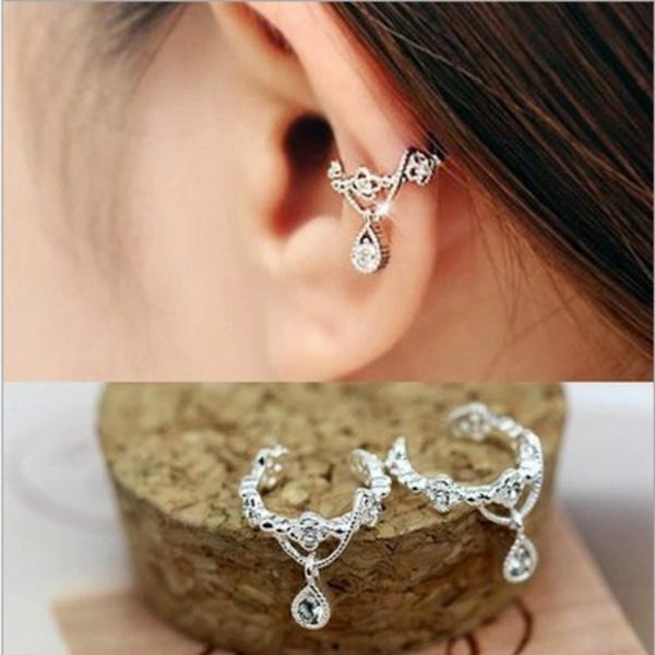 pendantearring, Fashion, punk earring, Gold Earrings