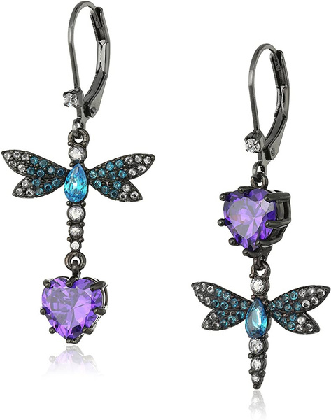 dragon fly, DIAMOND, Jewelry, Colorful
