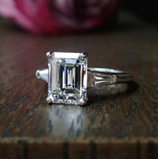Sterling, White Gold, DIAMOND, 925 sterling silver