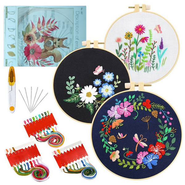 butterfly, flowerscrossstitch, Craft Kits, Sewing
