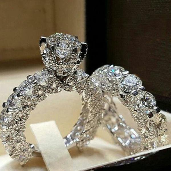 Couple Rings, party, DIAMOND, wedding ring