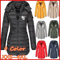 Down Jacket, Zip, Fashion, Hoodies