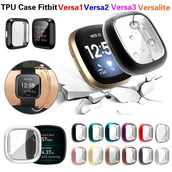 case, fitbitversalite, fitbitversa3case, Waterproof