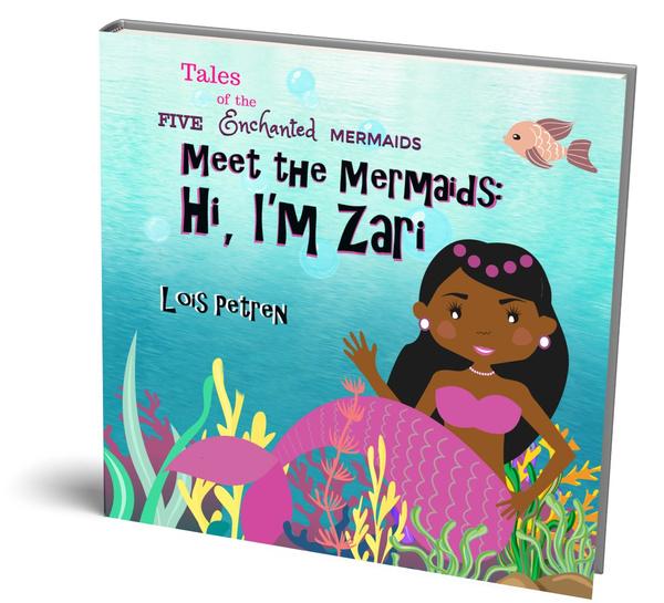 mermaidtoy, Gifts, mermaidbookforgirls46, africanamericanmermaidbook
