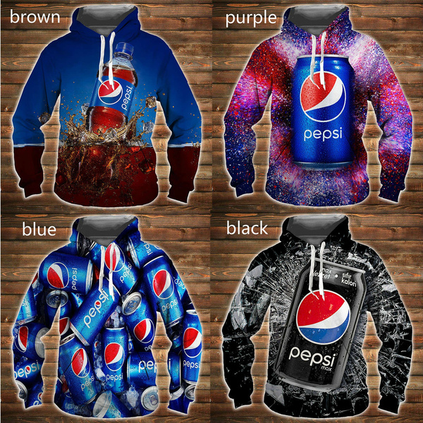 3D hoodies, Fashion, pepsicola, pepsishirt