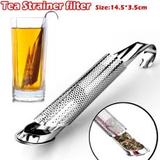 Steel, strainerteaspooninfuserfilter, Stainless Steel, Handles