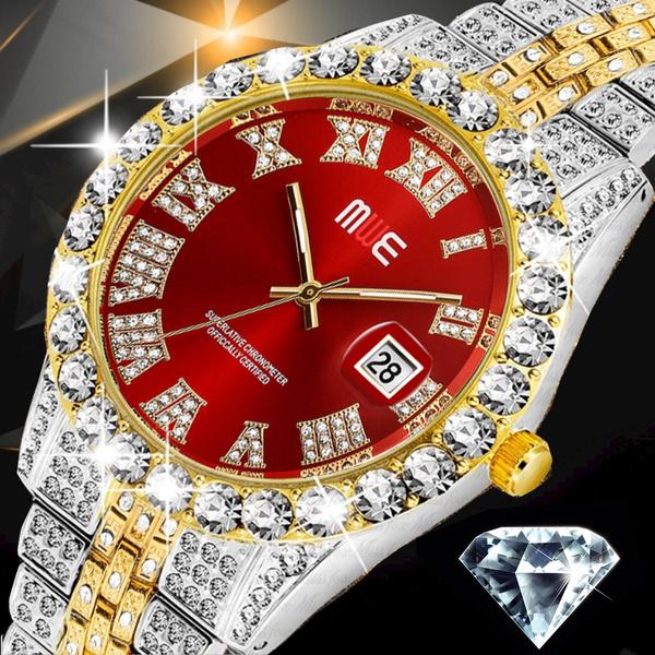 Fashion Accessory, quartz, dress watch, fulldiamond
