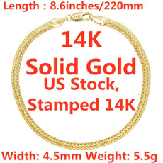 yellow gold, Fashion, Chain bracelet, Chain