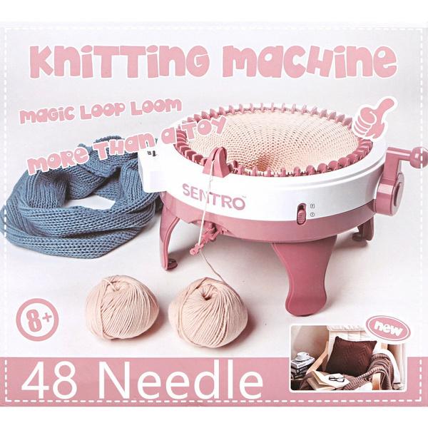 Mini, handknittingmachine, handknitting, Knitting