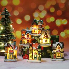 Night Light, Christmas, house, Ornament