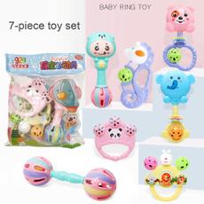 rattlesgrab, Infant, Set, babyrattlestoy