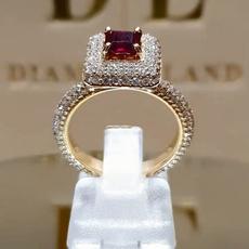 DIAMOND, wedding ring, gold, Women jewelry