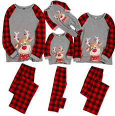 nightwear, Plus Size, Christmas, Family